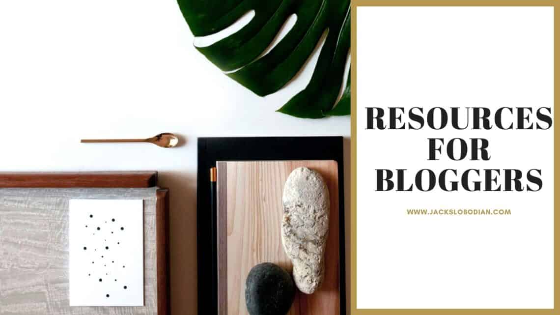 Resources for bloggers