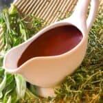 A jug of smooth looking gravy