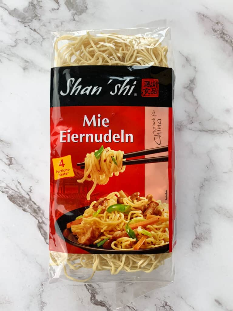 a package of Shanghai Noodles