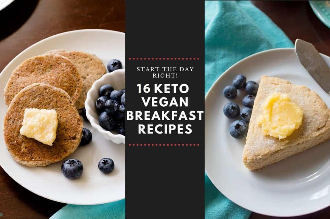 Keto Vegan Breakfast Recipe Cover Photo